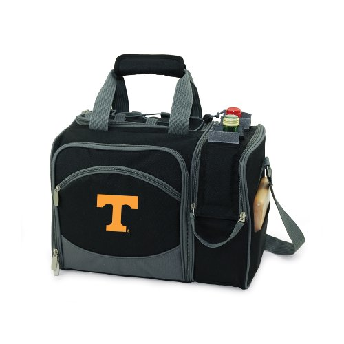 NCAA Tennessee Volunteers Malibu Picnic Tote with Deluxe Picnic Service for - Deluxe Picnic Bag Beach Time