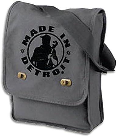 Made In Detroit Messenger Bag – Smoke