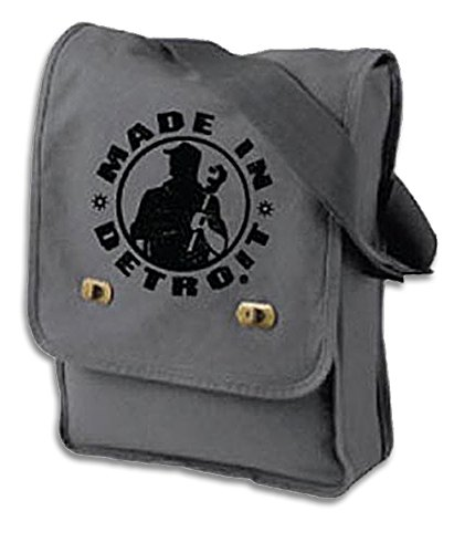 Made In Detroit Messenger Bag – Smoke