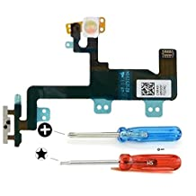 MMOBIEL Power On / Off Flex for iPhone 6 Plus Switch Power Button Flex Cable incl. pre installed adhesive Incl. 2 x Screwdrivers for easy installation