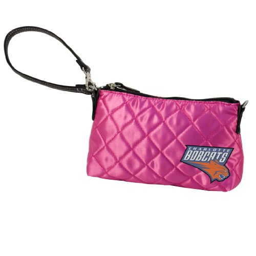 NBA Charlotte Bobcats Quilted Wristlet by Littlearth