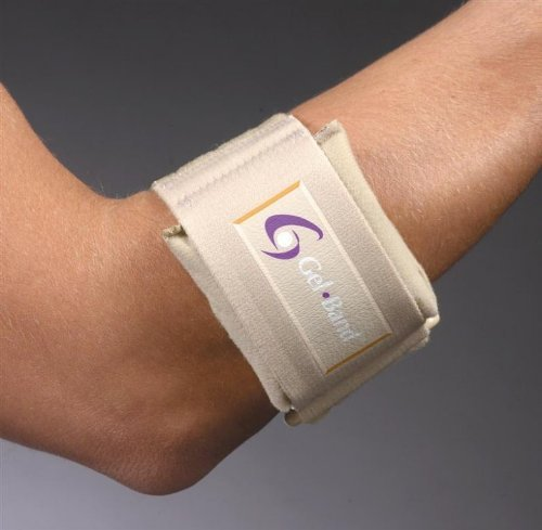 FLA 19-500 GEL.BAND TENNIS ELBOW ARM BAND BEIGE UNIVERSAL ()