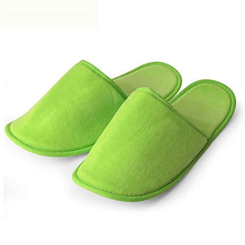 E S ' Tradizionali Lxjld Donne Spa Men 1 gray Ospiti Paia Green Pantofole F1qT65