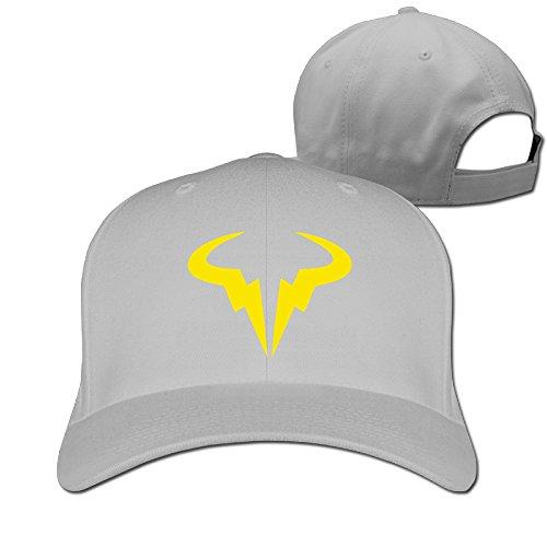 TLK Classic Rafael Nadal Tennis Player Logo Unisex-Adult Fishing Caps Hat -