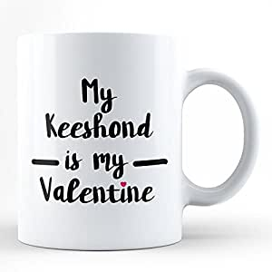 Amazon.com | Keeshond is My Valentine | Best Gift for