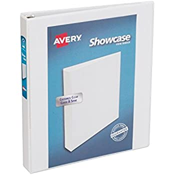 amazon com avery heavy duty binder with 1 inch one touch ezd ring