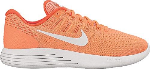 Nike Kvinna Lunarglide 8 Ljusa Mango / Vit Brght Crmsn Löparskor 8 Kvinnor Oss