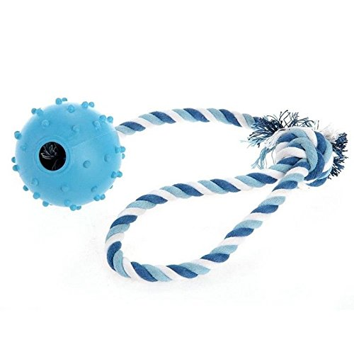 Ball Rubber Ball Macher + Cable Toy for Dog Animal V9W6