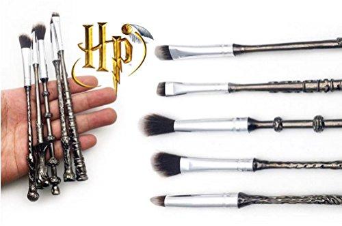 harry-potter-brush-wizard-wand-make-up-brush-set