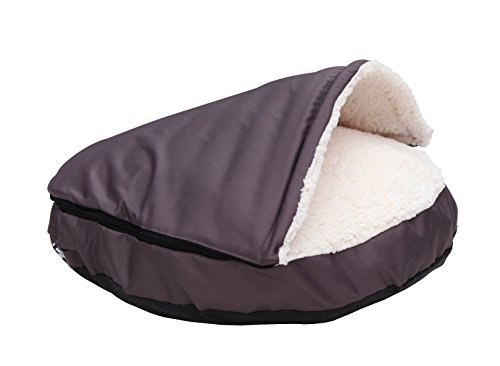 HappyCare Textiles Durable oxford to Sherpa Pet Cave and Rou