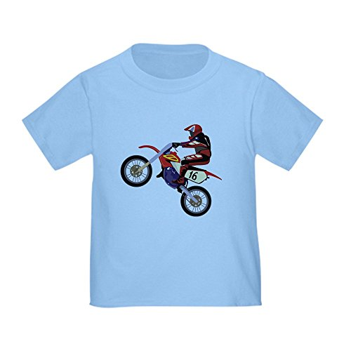 CafePress - Motorcross - Cute Toddler T-Shirt, 100% Cotton