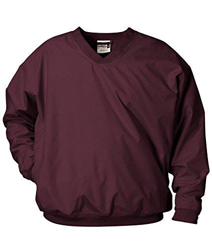 Badger Sportswear Adult Microfiber Windshirt, Maroon, XXXXX-Large