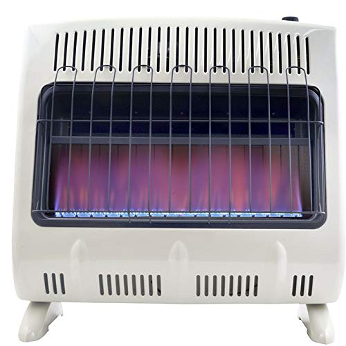 Mr. Heater 30K BTU NG Vent Free Blue Flame Heater with Built In Blower (Natural Gas)