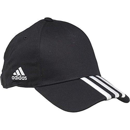 adidas - Gorra de béisbol - para Hombre Negro Negro/Plata Talla ...