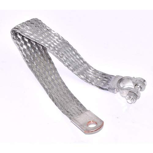 (BRAIDED BATTERY GROUND STRAP 14