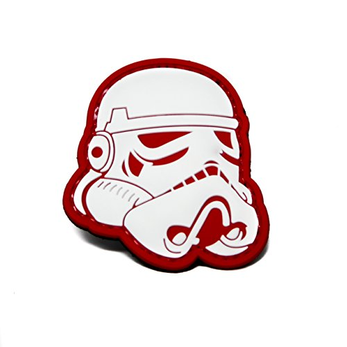 Stormtrooper Star Wars PVC Rubber Morale Patch by NEO Tactical Gear Morale Patch - Girls Heads With Big Do Guys Like