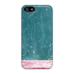 DrunkLove Premium Protective Hard Case For Iphone 5/5s- Nice Design - Splashing Rain