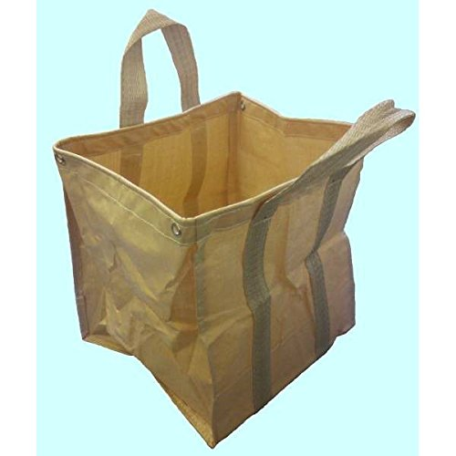 万能フゴ 5枚組 55cm×55cm×高さ60cm 収穫袋 造園袋 自立式フゴ B01E3E2OJ8