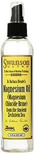 Swanson Magnesium Oil Spray, Zechstein Magnesium, Soothes Muscles, Nourishes Skin, Stress Relief, Sleep, Rapid Absorption, Dr. Barbara Hendel's Formula 8 fl oz (237 ml) Liquid