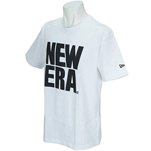 (ニューエラ) NEW ERA Tシャツ ビッグ ロゴ ベーシック ホワイト