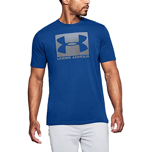 Under Armour Men's Boxed Sportstyle T-Shirt, Royal/Graphite, X-Large