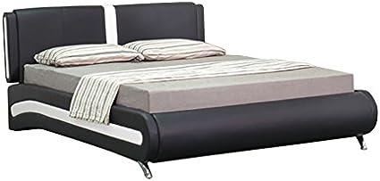 5 pies king cama de piel sintética estilo italiano Valencia ...