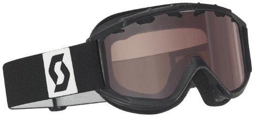 Scott US Junior Hookup Goggle (Black, Small, Silver Chrome), Outdoor Stuffs