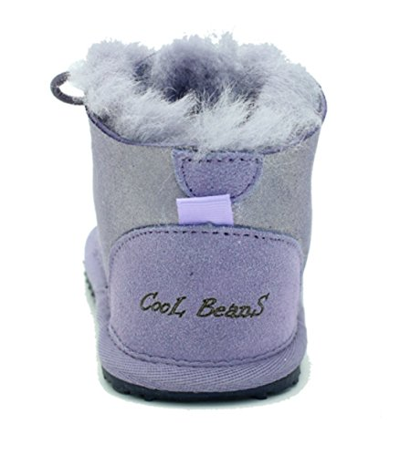 Boots Fur Girls Winter Sheepskin Cool size 5 Snow Childrens Toddler Baby Boys Warm Beans Zxa0fq6