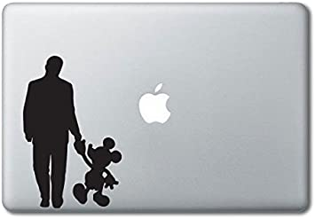 Laptop Decal All Macbook Models 15-17 Mickey and Minnie Mouse Decal Sticker
