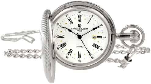 Charles-Hubert, Paris Quartz Pocket Watch