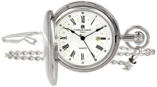 Charles-Hubert, Paris Quartz Pocket Watch from Charles-Hubert, Paris