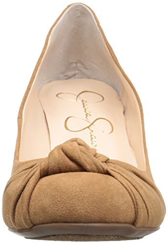 Jessica Simpson Womens Siennah Wedge Pump Miele Marrone