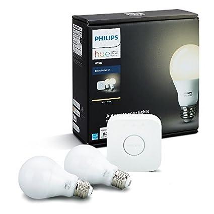 Philips Hue Outdoor Lampen.Philips Hue A19 Smart Led Light Bulb 1 Each Amazon Com