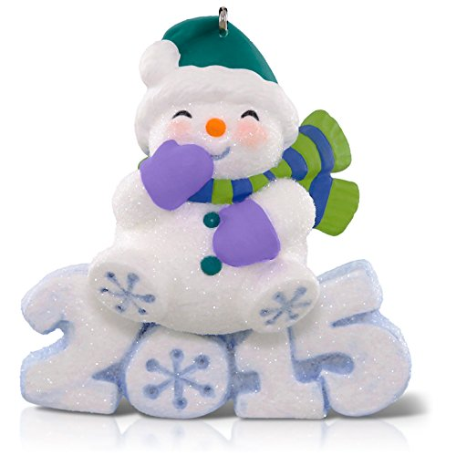 Hallmark Keepsake Ornament: Frosty Fun Decade Snowman : 6th in the Frosty Fun Decade - Keepsake Fun