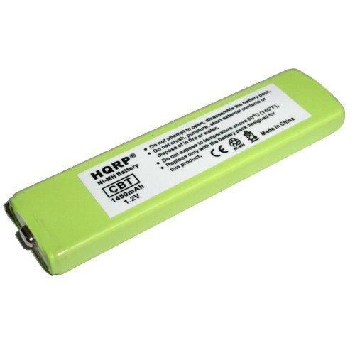 HQRP Portable CD / MD / MP3 Gumstick Battery for Sharp AD-N55BT / ADN55BT Replacement fits MD-MT190 MD-MT190H UBATM0006AWSA MD-MT877 PORTABLER MINI-DISC RECORDER plus Coaster