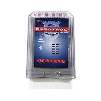 Amazon.com: SJE Rhombus 1022728 Alarma con Post de montaje ...