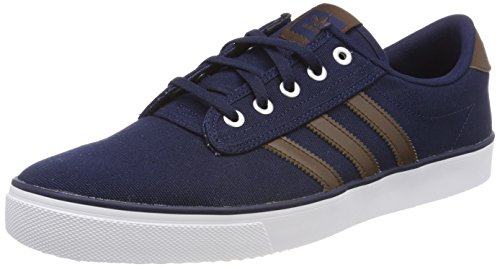 Baskets Adidas Kiel ftwwht brown conavy Adulte Mixte Bleu 5x8aZqSw