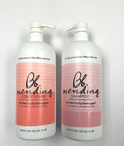 Bumble and Bumble Mending Shampoo 33oz and Mending Conditioner 33 Oz Liter Duo