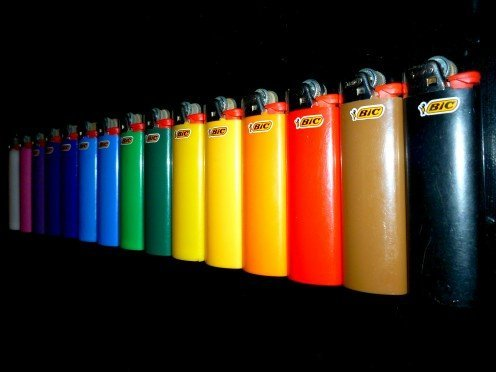 Mini Lighters Bic (BIC Mini Lighters - Assorted Colors - Sold As 50 Child Resistant Lighters)