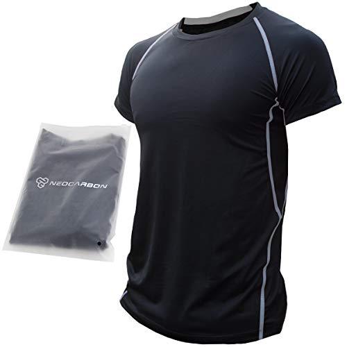 NeoCarbon Playera Deportiva de Compresión para Hombre, Camiseta de Entrenamiento y Ejercicio Físico para Gimnasio, Crossfit...