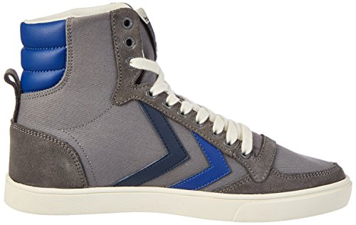 Hummel Unisex-Erwachsene SL. Stadil Duo Canvas High Top Grau (Castle Rock)