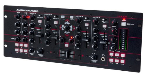 American Audio 19MXR 4-Channel MIDILOG DJ Mixer