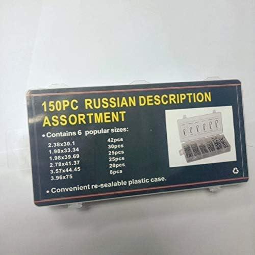 Tivollyff 150PCS / SET防錆ヘアピンヒッチ保持Rクリップリンチコッタースプリングアソートキットスプリットコッターピンキットセットファスナーピン