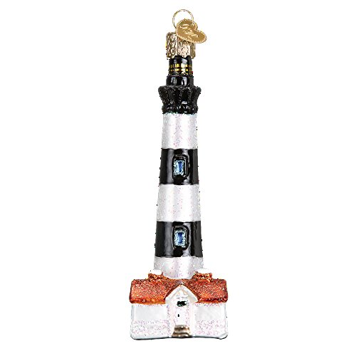 - Old World Christmas Lighthouse Collection Glass Blown Ornament (Bodie Island Lighthouse)