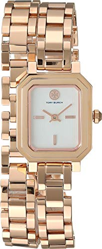Robinson Mini - Tory Burch Women's Robinson Mini Bracelet Watch, 22mm, Rose Gold, One Size