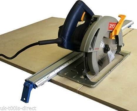 Mekanik - Guía para sierra caladora, rebajadora o sierra circular (2 unidades, pinza de sujeción sobre escalímetro, 1270 mm): Amazon.es: Bricolaje y herramientas