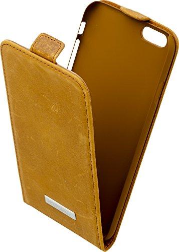 Commander Premium DeLuxe Vertikal Case für Apple iPhone 6 Vintage braun