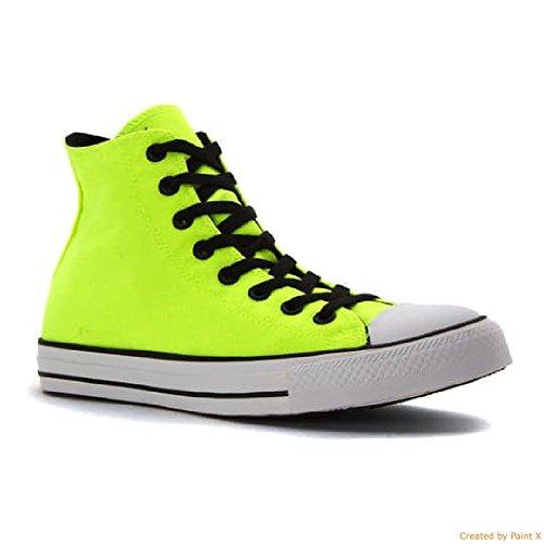 M HI Color Star Taylor Chuck White 11 Pop Mens Converse All Black Volt qw71RU