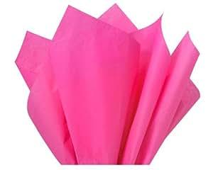 "Brand New Hot Pink Bulk Tissue Paper 15"" x 20"" - 100 Sheets"