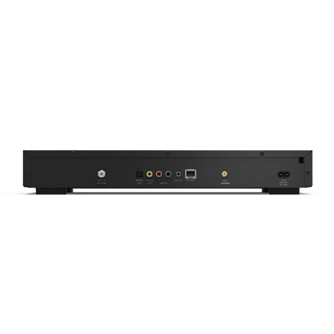 Hama Digital HiFi-Tuner Internetradio DIT2005M schwarz Spotify, WLAN//LAN//DAB+//FM, 2,8 Farbdisplay, USB-Anschluss, Netzwerk-Streamingfunktion, Wecker-Funktion, Multiroom, Fernbedienung, UNDOK-App